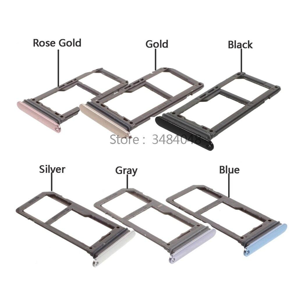 OEM Bandeja Substituição Do Cartão SIM Tray Titular Slot de Cartão SD para Samsung Galaxy S8 G950 S8 Plus G955