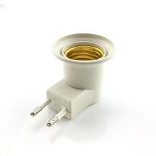 E27 LED glühbirne Adapter lampe Halter Konverter Weibliche Sochet Basis typ zu AC Power 110 V 220 V EU stecker + AUF/AUS-Taste Schalter