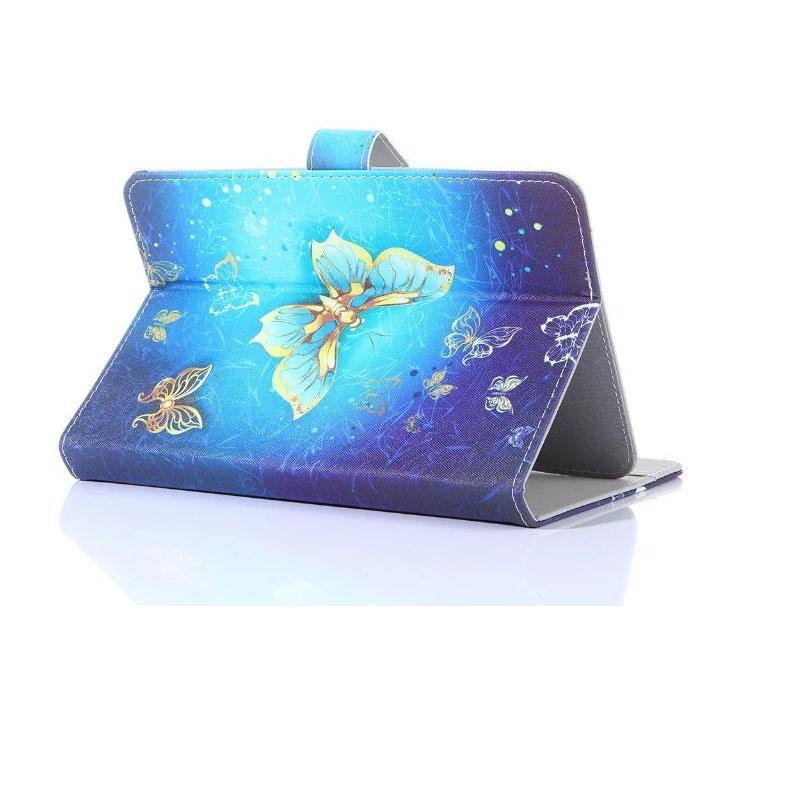 Myslc cubierta impresa para impression impad 1005 10,1 pulgadas Tablet Universal PU funda vertical de cuero