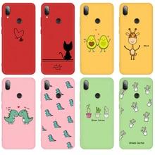 Candy Color Case for Xiaomi Mi9 SE Mi9 Mi8 Lite Mi 9T Pro Cartoon Pattern Soft TPU Cover for Redmi N