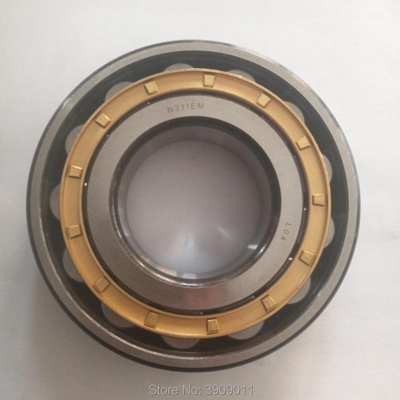 SHLNZB teniendo 1 Uds N2203 N2203E N2203M N2203EM N2203ECM C3 17*40*16mm latón jaula rodamientos de rodillos cilíndricos