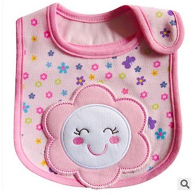 1PCS Newborn Baby Bibs Waterproof  Bib Bandana Baberos Bibs For Kids  Girls Boys Bib Baby Clothing 2