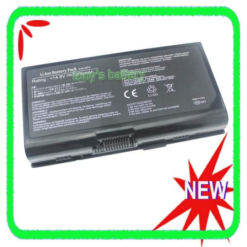 תא סוללה 8 עבור Asus F70S F70SL F70 G71 G71G G71GX G71V G71VG G72 G72GX G72G G72V A42-M70 A32-F70 A32-M70 L0690LC