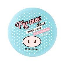 HOLIKA HOLIKA Pig nose Clear Black Hoofd Diepe Reiniging Olie Balsem 25g Neus Comedondrukker Krimpen Poriën Loslaten acne Behandelingen