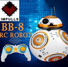 BB-8 balle Star Wars RC figurine BB-8 star war rc Robot 2.4G télécommande Robot Intelligent modèle enfants jouet cadeau FSWB