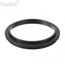 Macho 55mm-55mm 55-55mm, Macro anillo de reversa de cámara, adaptador de montaje para lentes de marcha atrás