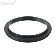 Mannelijke 55mm-55mm 55-55mm Camera Macro Reverse Ring Omkeren Lens Mount Adapter