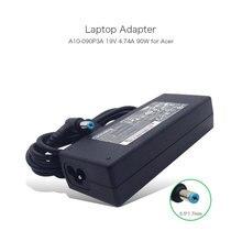 100% Original AC Adapter 19 V 4.74A 90 W Chicony cargador para ACER TravelMate 6595 8573 P243 P453 A10-090P3A A090A066L ADP-90SB BB