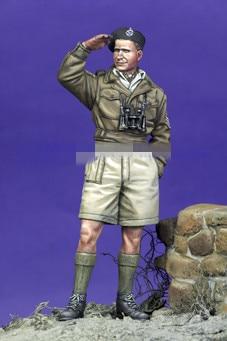 1/35 Resin Figure Model Kits WW2 British soldier  Unassembled unpainted
