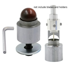 Outils pour le travail du bois, moule à siège fixe en alliage pour le bricolage des couteaux à boule perles en bois