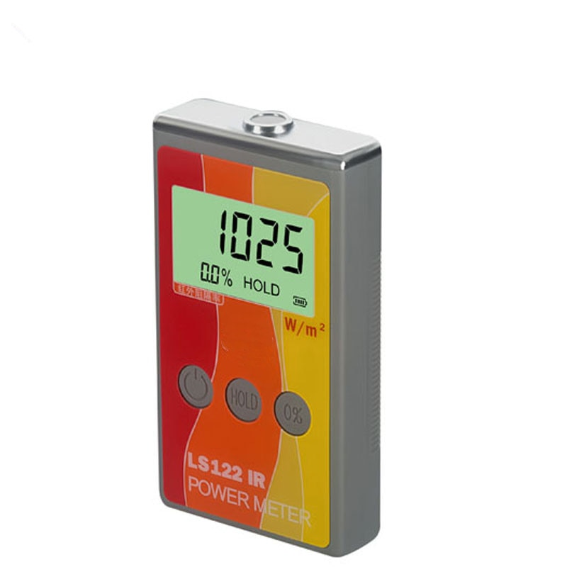 ¡Envío gratis! Medidor de energía Solar IR, Detector Digital de radiación infrarroja, medidor de potencia IR, 1000-1700nm IR rechazo