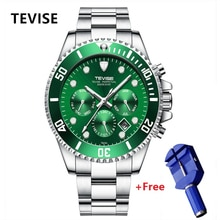 New TEVISE Automatic Watch Men Luxury Mechanical Men's Wristwatches Stainless Steel Waterproof Milit