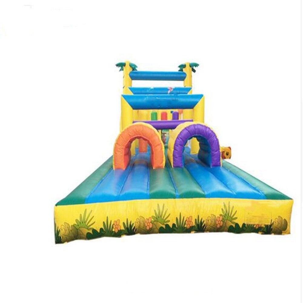 Parcours de combattant gonflable extérieur dapprovisionnement dusine/obstacle gonflable pour des enfants