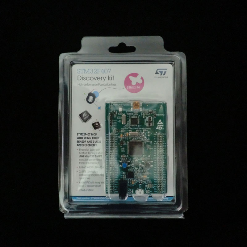 1 шт. x STM32F407G-DISC1 EVAL KIT STM32F DISCOVERY ARM Cortex-M4 STM32F407G DISC1