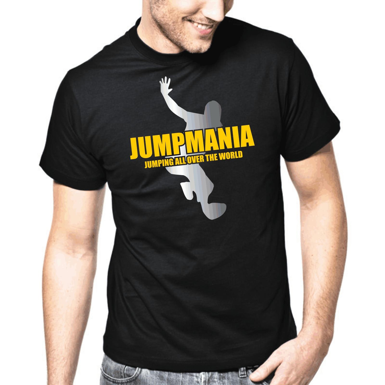 Jumpmania   Jumpstyle   Hardstyle   DJ   Jersey   Danza   Música   S-3XL Camiseta Hombre impresión T camisa Hipster Camiseta Tee superior tendencia