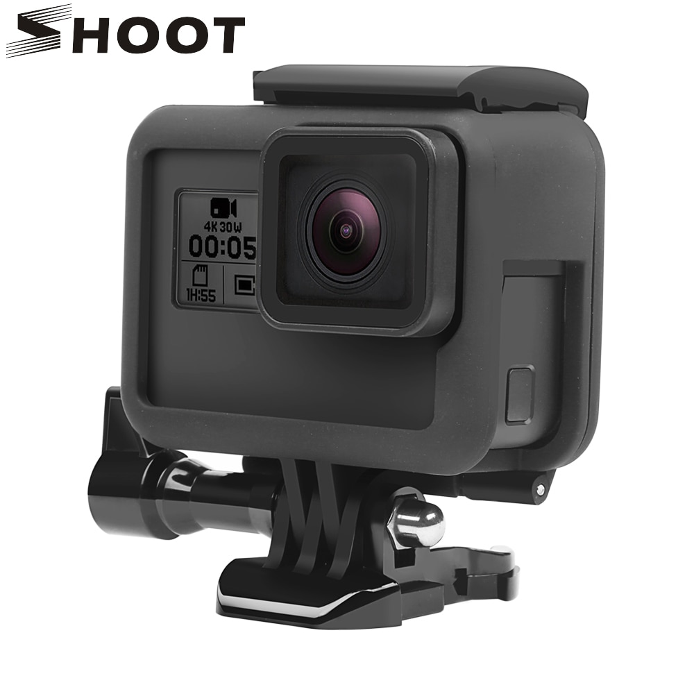 SHOOT Protective Frame Case for GoPro Hero 7 6 5 Black Action Camera Border Cover Housing Mount Go pro Accessory
