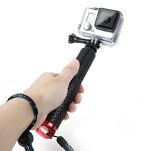 Gosear sous-marin poche monopode Selfie bâton pôle et bracelet pour Gopro Hero 5 4 3 plus 2 Sjcam Xiaomi Yi 4 k caméra daction