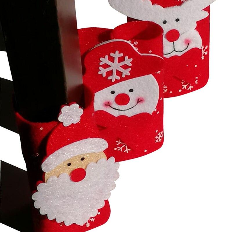 50 قطعة/الوحدة الأثاث الساق عدم الانزلاق الجدول كرسي القدم واقية كم الجدول كرسي الساق القدم الجوارب عيد الميلاد زينة 30% قبالة
