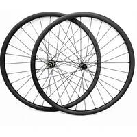 29er carbon mtb wheels disc tubeless 34x30mm symmetry 6 bolt and central lock d411sbd412sb 100x15 142x12 mtb bicycle wheels