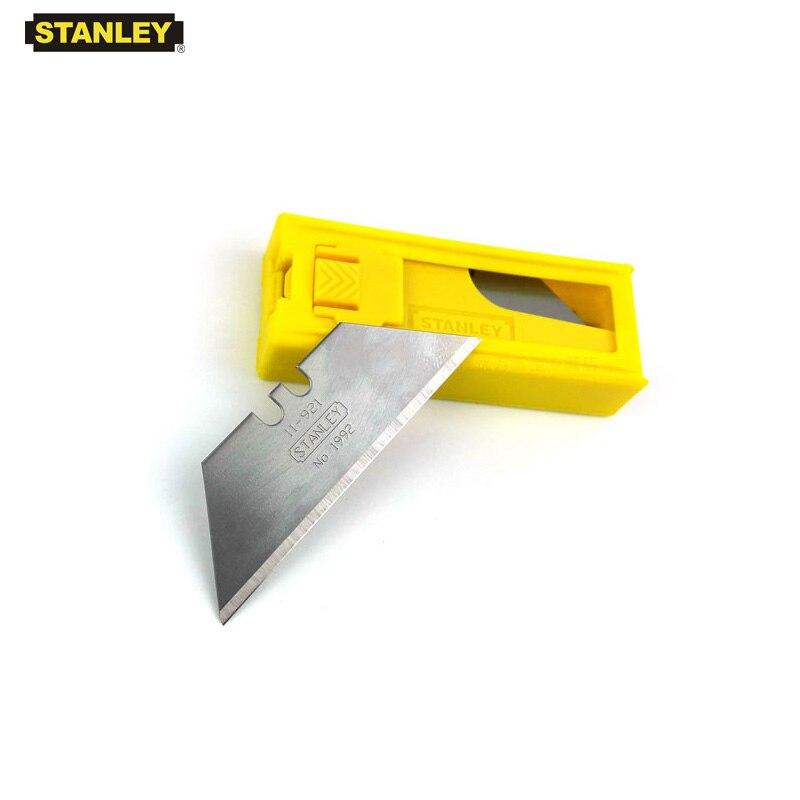 Stanley repuesto de gran resistencia, cuchillas de cuchillo de Banco de utilidad, cuchillas de carburo, cuchillas reemplazables, alfombras y cuero, herramientas de corte de papel