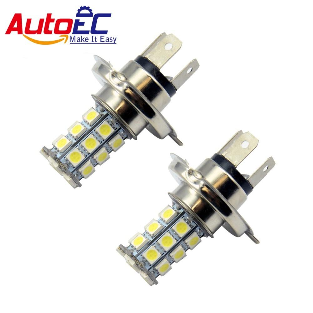 AutoEC H7 18 smd 5050 led headlight buld Fog led lamp H7 5050 smd Car Driving light White 12V  white blue 30pcs/lot #LJ10