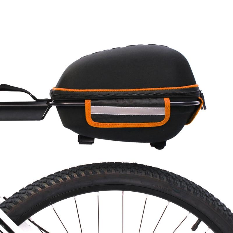 Nova equitação ciclismo saco de carga do assento da bicicleta traseiro rack saco prateleira utilitário e durável casca dura suprimentos loja YS-BUY