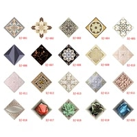10 pcsset ceramic tile stickers self adhesive tiles art diagonal 3d floor stickers for living room kitchen bedroom fpin