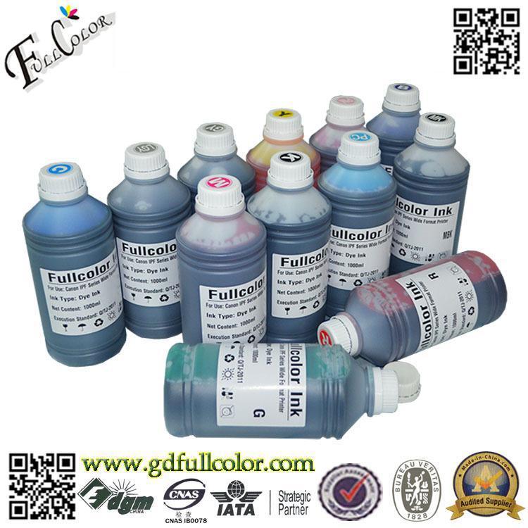 Envío Gratis 12 tinta con pigmento de color para Canon IPF5000 impresora de gran formato con 12 piezas de cartucho gratis