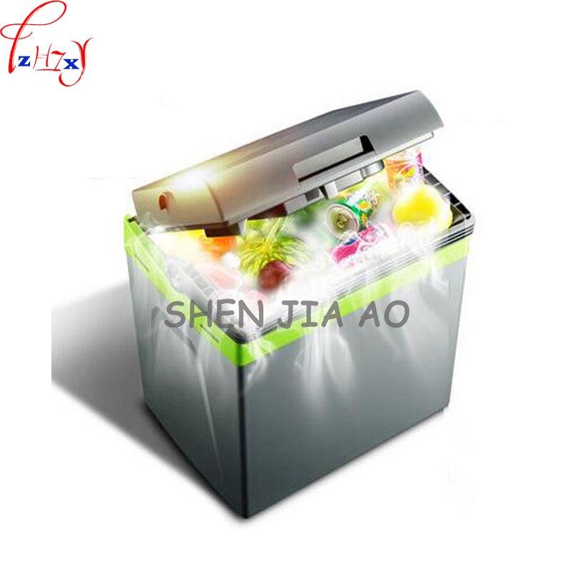 Домашний портативный автомобильный холодильник 25 л, маленький холодильник для автомобиля, двойной холодильник большой вместимости, холоди...