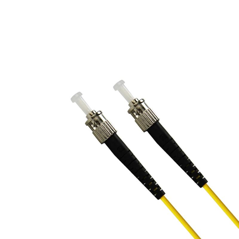 LC to ST Single-mode optical fiber patch cord SM LC/ST fiber jumper cabel Duplex 9/125 UPC Polish OFNR 3m 5m 10m 15m enlarge