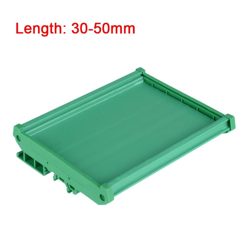 UM90S длина печатной платы 30-50 мм PLC корпус PCL корпус PCB carrie профиль монтажная панель базовый корпус для печатной платы PCB DIN рейка монтажный адаптер