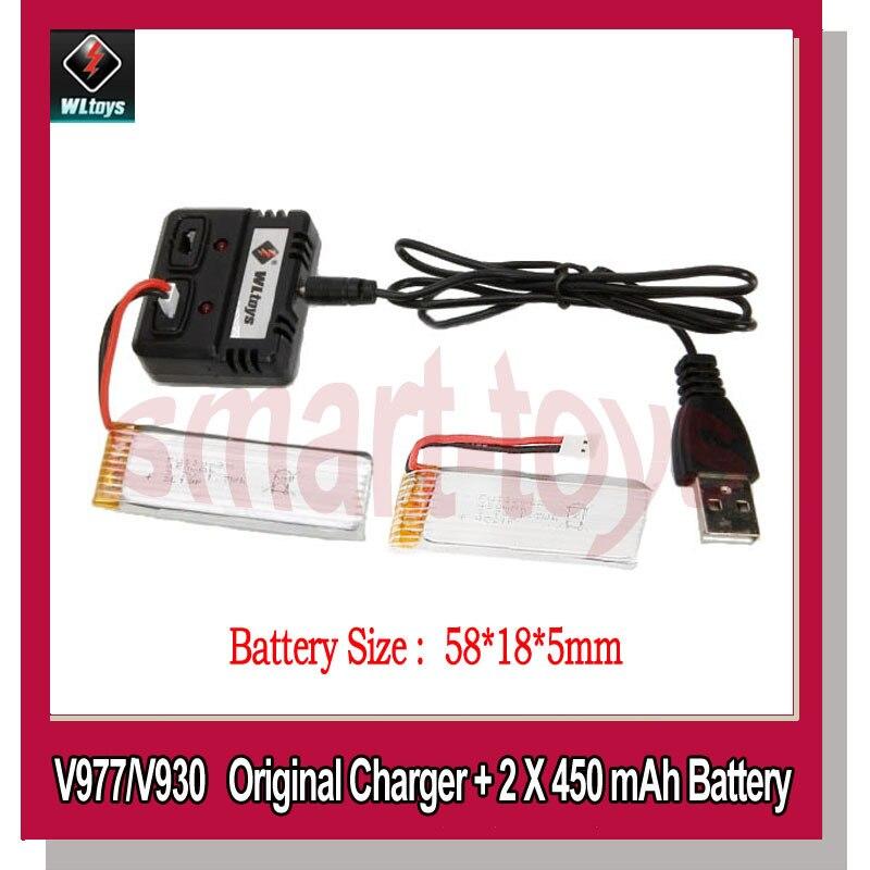Cargador de batería Original V966-023 con cable USB y batería V977 de...