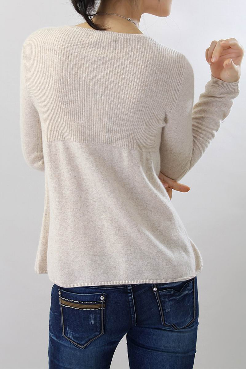 100%Cashmere Sweater Women O-Neck Coffee Cardigan Natural Fabric Extra Soft Warm High Quality Clearance Sale Free Shipping enlarge