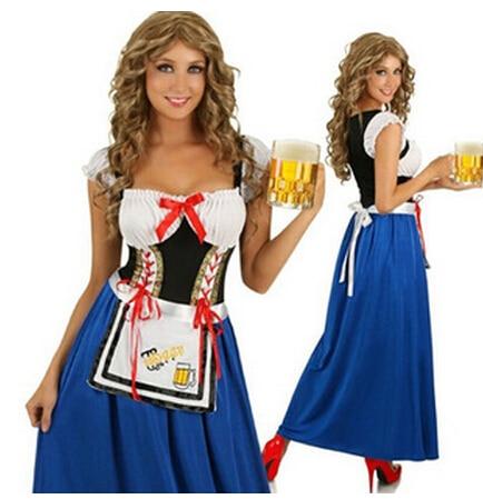 Nuevo traje de talla grande Oktoberfest para mujeres Octoberfest conjunto de ropa de fiesta bávara Fiesta de La Cerveza vestido del Oktoberfest XL L M