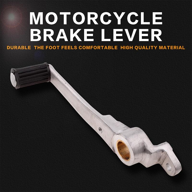 Liga de alumínio da motocicleta alavanca do freio hidráulico traseiro pé repousa haste pedal para honda nsr250 p3 nsr 250 p3 nsr250r