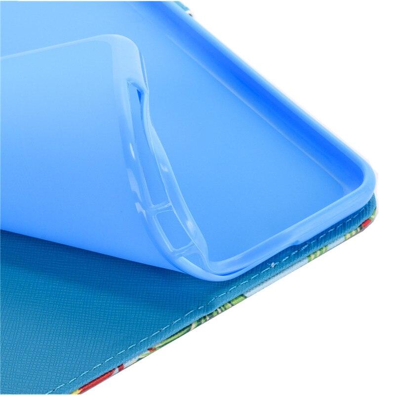 "Купить с кэшбэком Wekays Cute Cartoon Unicorn Leather Flip Fundas Case For Coque Samsung Galaxy Tab A 8.0"" 2017 T380 T385 Tablet Cover Cases Kids"