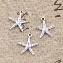 10pcs Charms Starfish 20x18mm Antique Making Pendant fit,Vintage Tibetan Silver color,DIY Handmade Jewelry