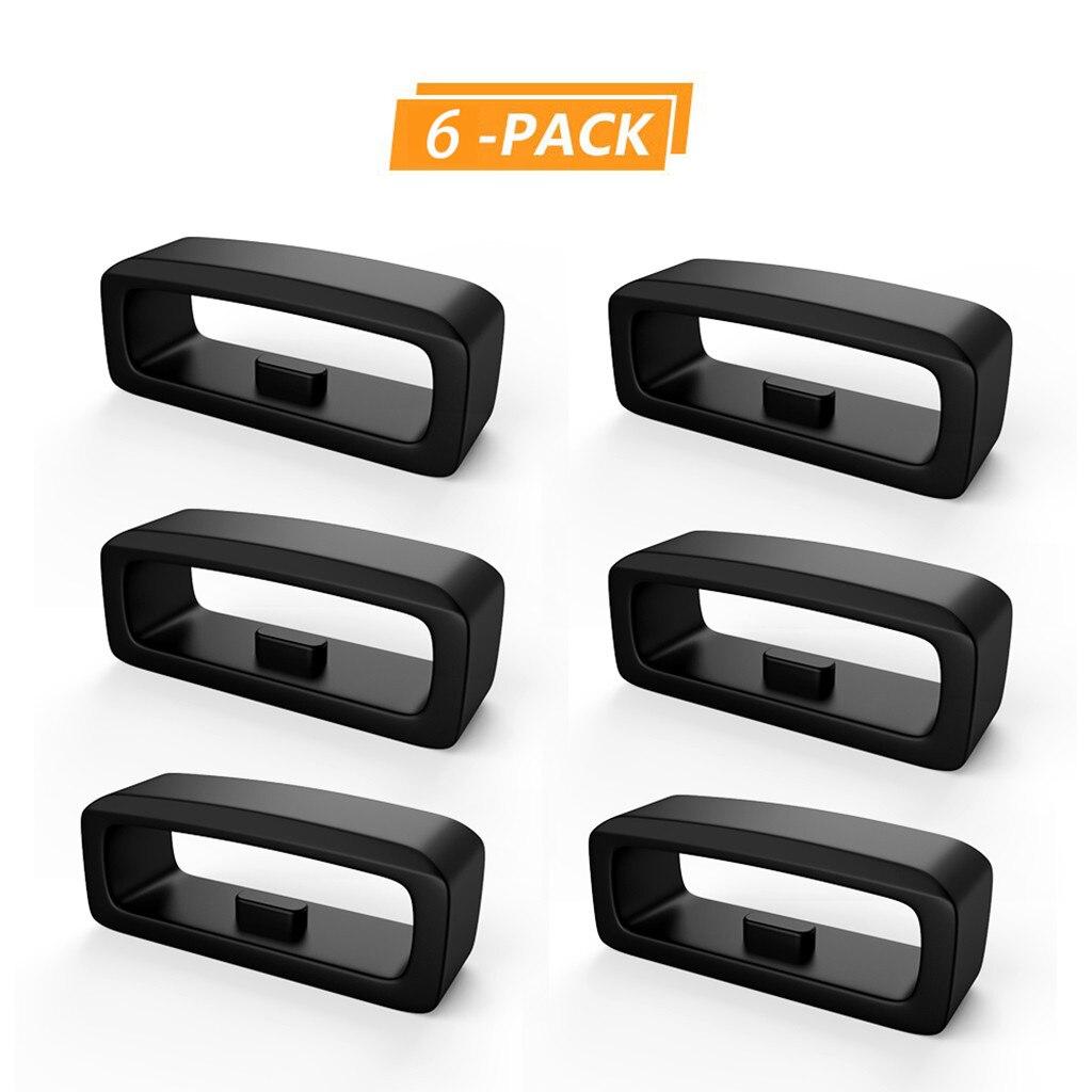 #30 6 anillos de cierre de goma repuesto de bucle de seguridad para Garmin Fenix5 /Fenix5 Plus accesorios de reloj inteligente