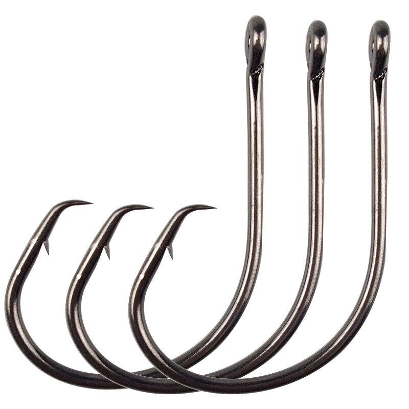 AliExpress - Hyaena 50pcs/lot 39951 1/0-9/0 Demon Circle Ultra Point Extreme Sharpness Short Shank For Heavier Lure Strong Freshwater Hooks