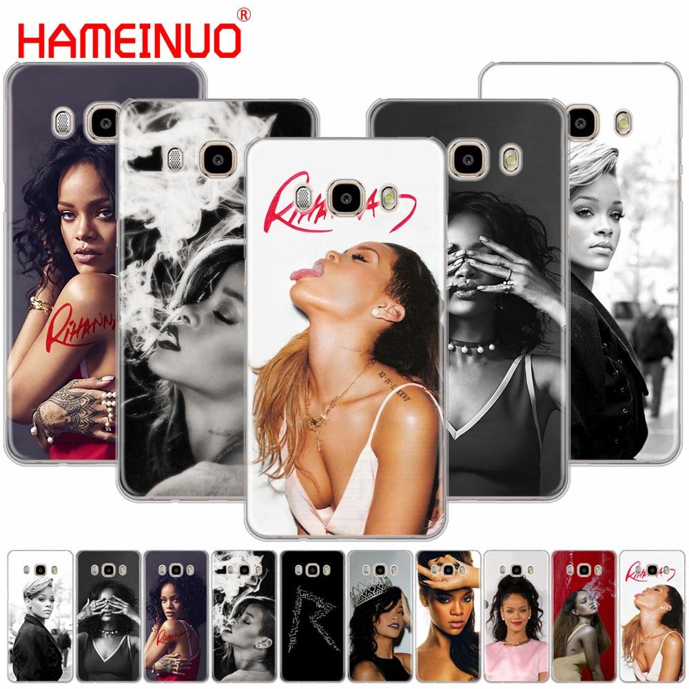 HAMEINUO Robyn Rihanna Fenty funda de teléfono funda para Samsung Galaxy J1 J2 J3 J5 J7 MINI ACE 2016, 2015
