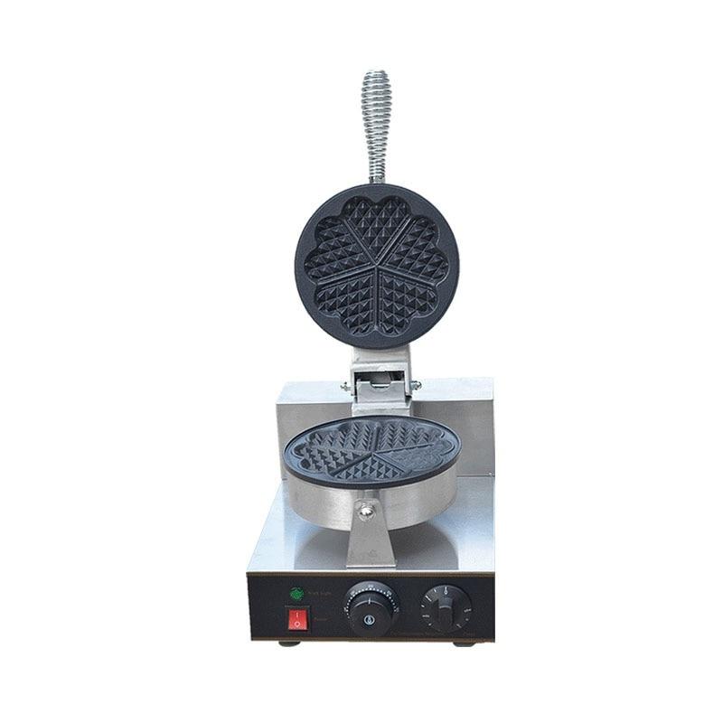 Horno eléctrico para Tartas, máquina para hacer waffles, máquina para Waffle de huevo pequeña, máquina para hornear crepé para desayuno