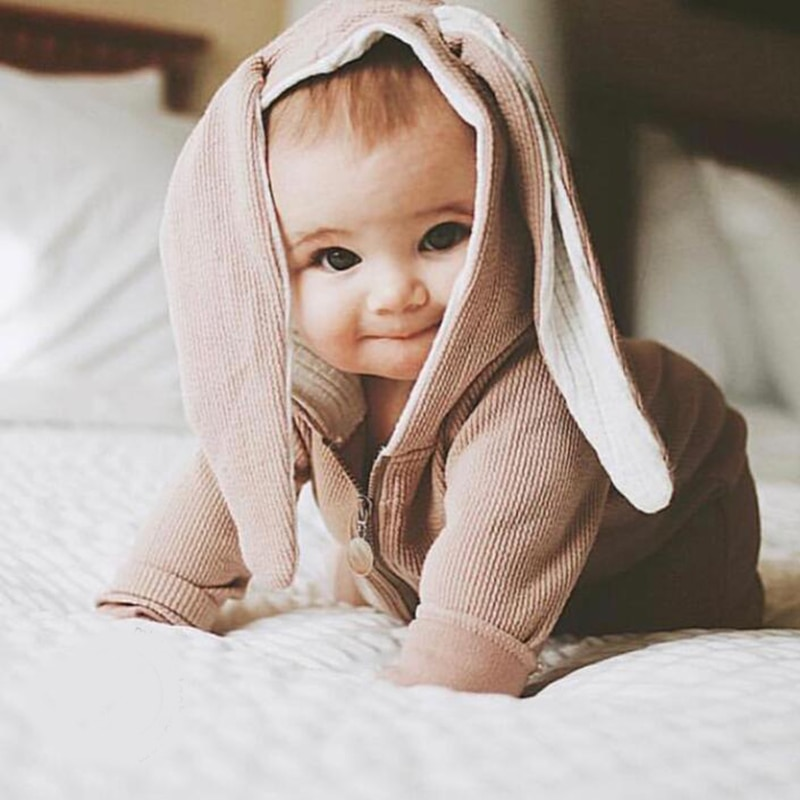 Ropa para bebé, Mono para niña, Mono para niños, bonito Conejo, ropa Unisex para niños, Mono para disfraz para recién nacidos, regalo para niñas y niños