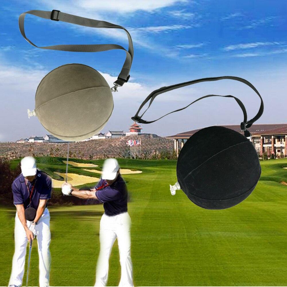 Golf inteligente Bola de impacto Golf Swing Trainer ayuda práctica corrección de postura entrenamiento suministros
