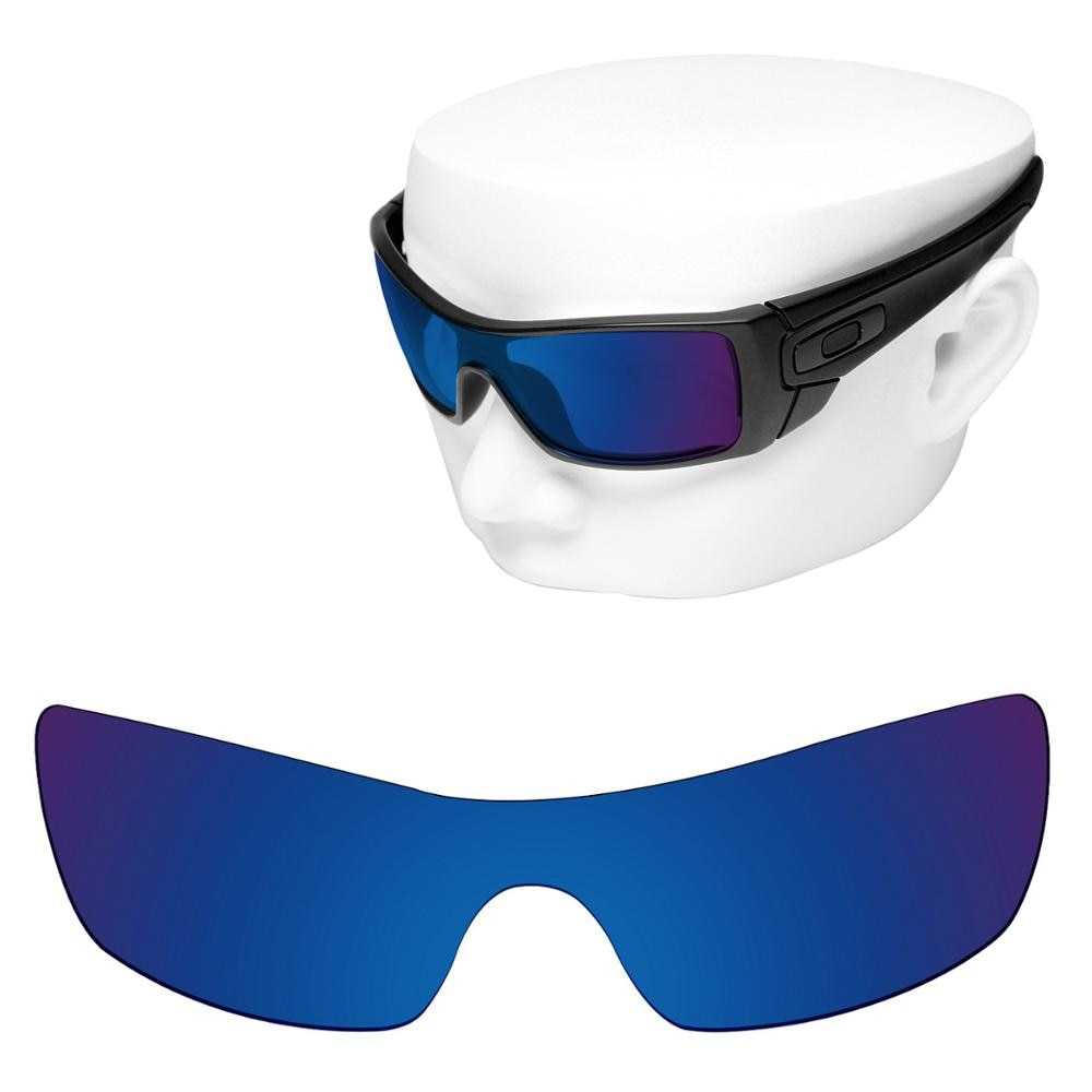 OOWLIT Polarized Replacement Lenses of Deep Water for-Oakley Batwolf OO9101 Sunglasses