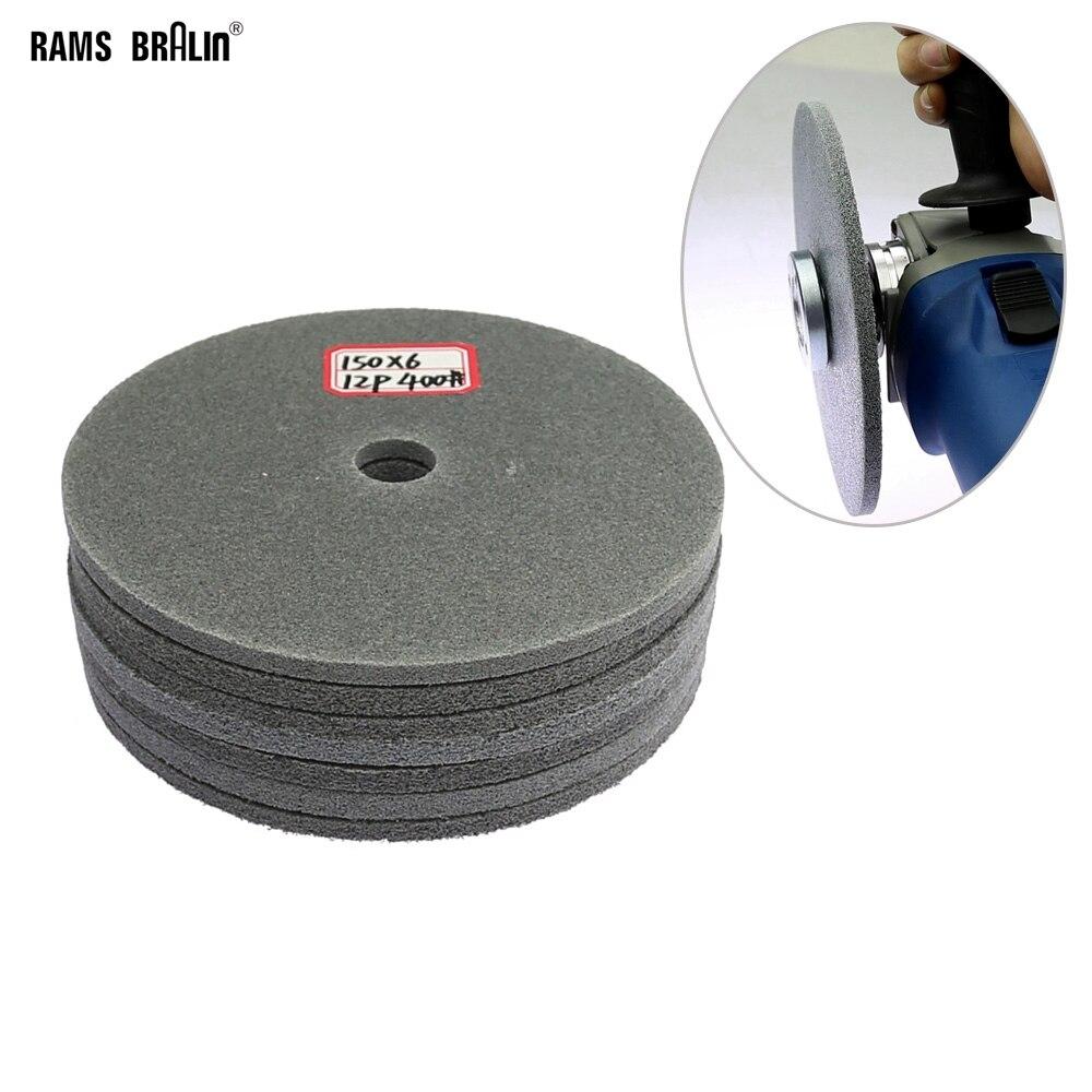 Disco de pulido de nailon superfino de 150mm de 1 pieza para la molienda de la ranura del punto de soldadura de acero inoxidable