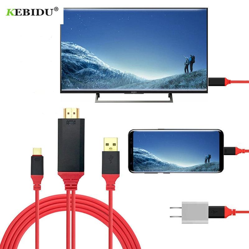 Ultra HD 1080P HD 4k convertidor de adaptador de Cable de 2m...