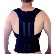 Corset mâle réglable dos Posture correcteur dos soutien hommes dos ceinture soutien colonne vertébrale soutien ceinture Karset cadeau pour mari B003