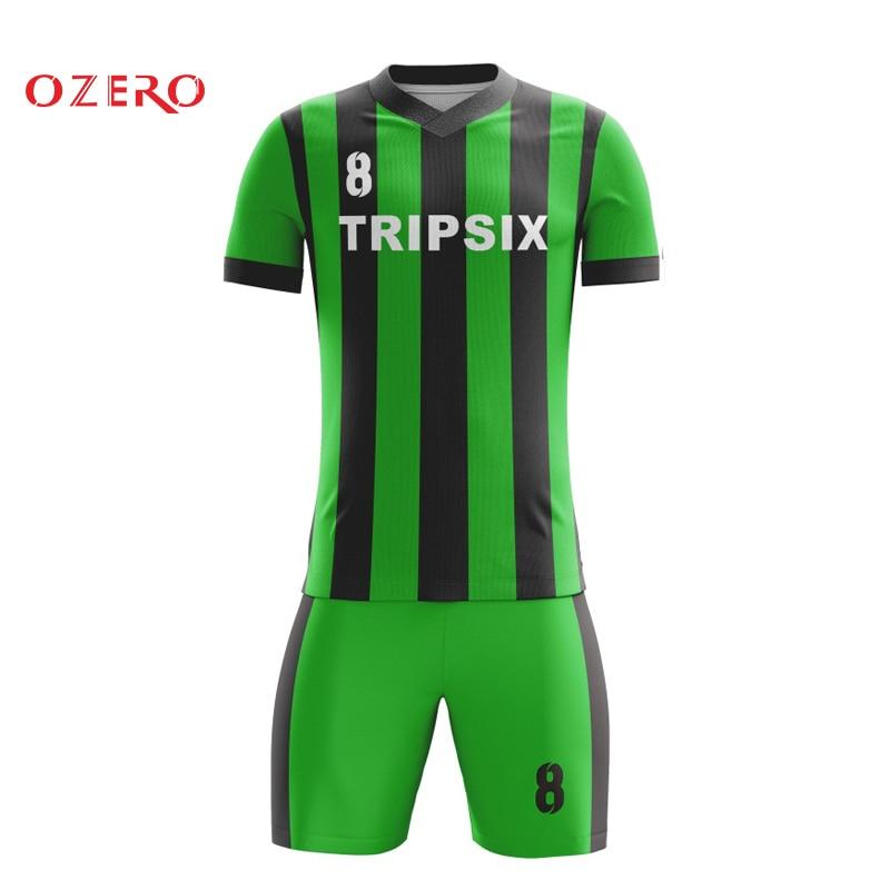 Granel por atacado de alta qualidade quick dry sublimada camisa de futebol barato uniformes de futebol personalizado