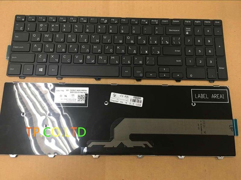 ¡Envío gratis! nuevo teclado ruso para Dell inspiron 15 3000 Series 3541 3542 teclado para ordenador portátil RU