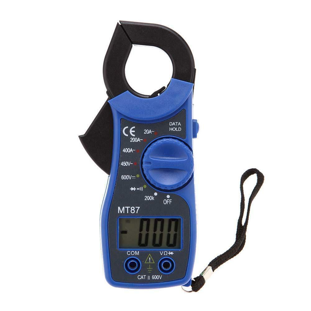 Multimeter LCD Pocket Digital Multi Tester Voltmeter Ammeter Ohmmeter AC/DC AUTO